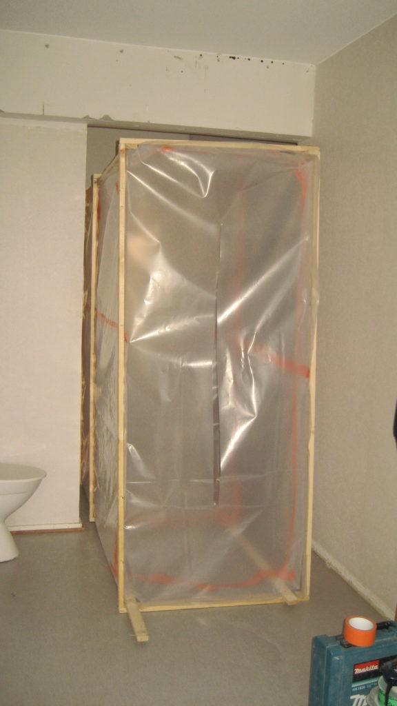 Asbestipurkutyö